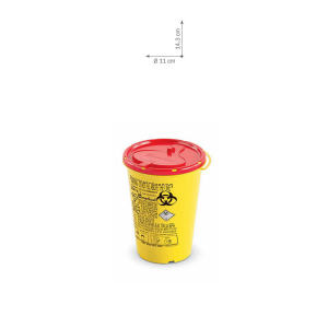 Needle disposable container - small
